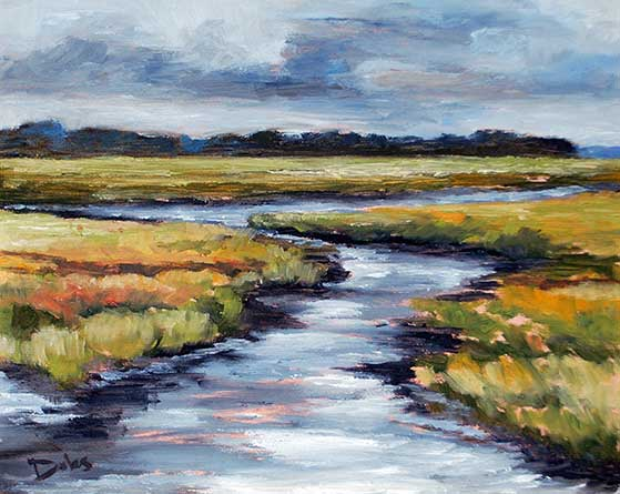 Landscape Paintings By Jacksonville Florida Artist Keith Doles