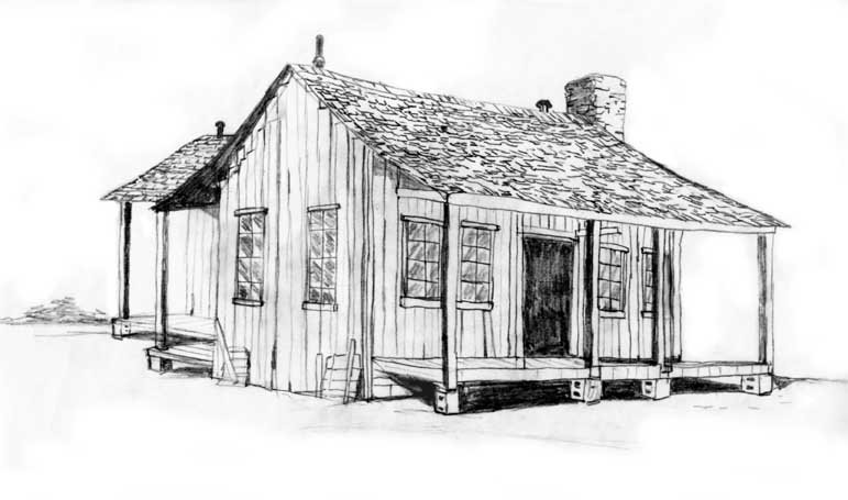 Drawing  Old Houses http://www.keithdoles.com/illustration.html